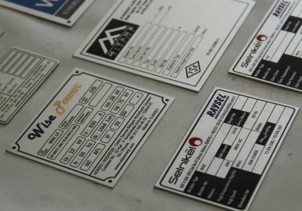 Alüminyum Etiket